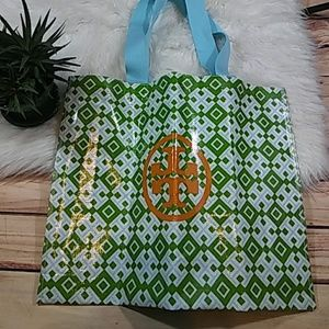 Large Tory Burch Plastic Tote